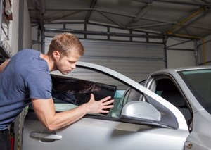 Tinting Auto Windows - Application
